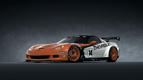 Chevrolet corvette zr1 c6 lm race car 09