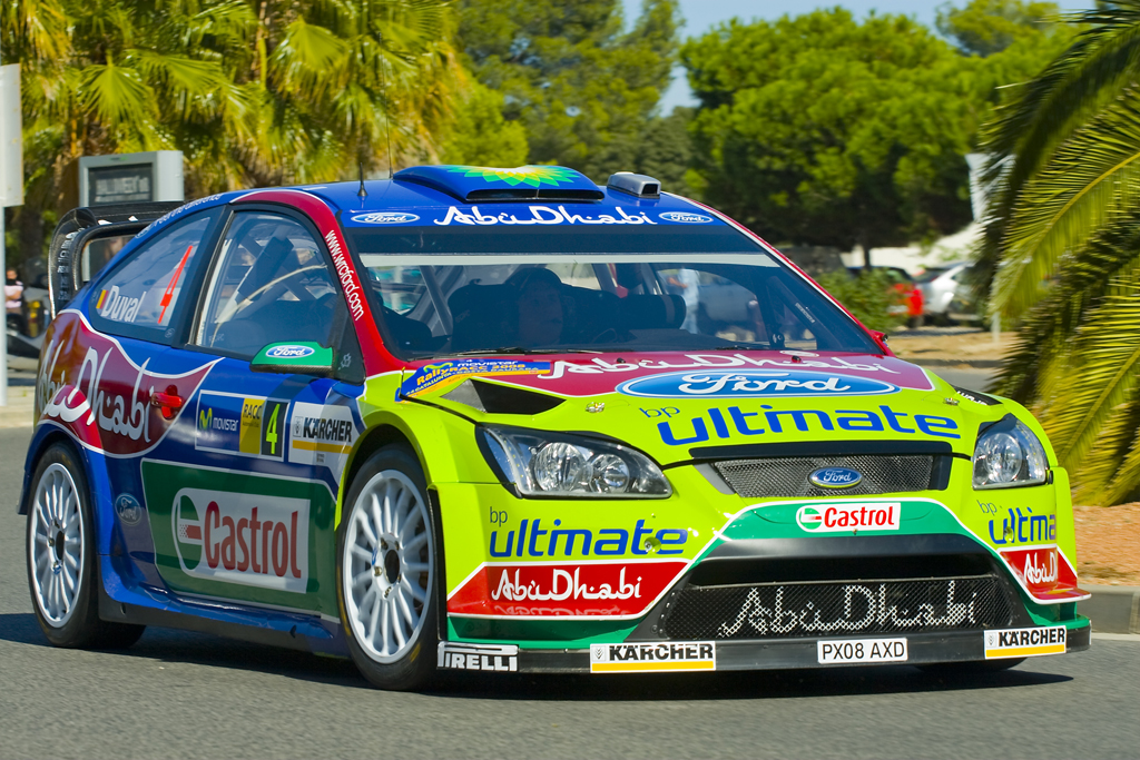 Focus rally car