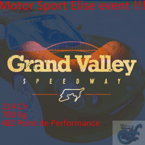 Logo grand valley speedway lotus elise