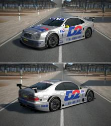 Mercedes benz clk touring car 00
