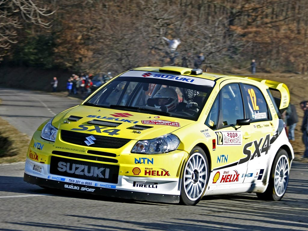 Sx4 rally car