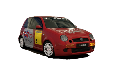 Volkswagen lupo cup car